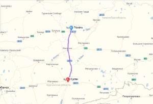 маршрут эвакуатора в тюмени: Тюмень - Курган, буксир 24