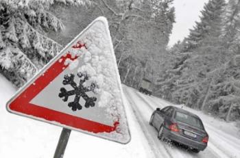 вождение авто зимой